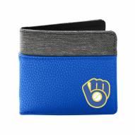 Milwaukee Brewers Pebble Bi-Fold Wallet