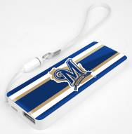 Milwaukee Brewers Slim Power Bank Portable Charger
