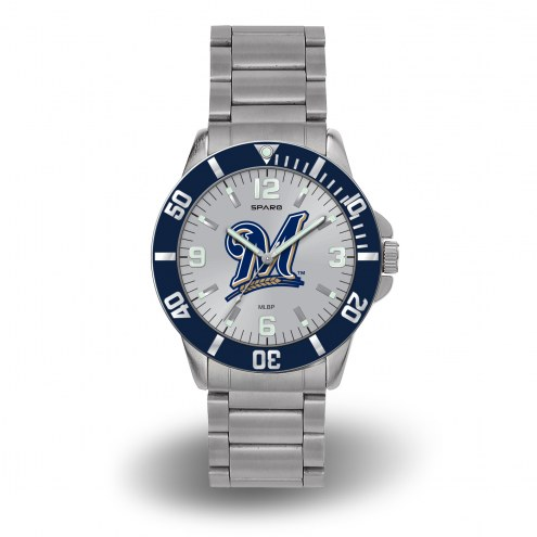 Milwaukee Brewers Sparo Men's Key Watch