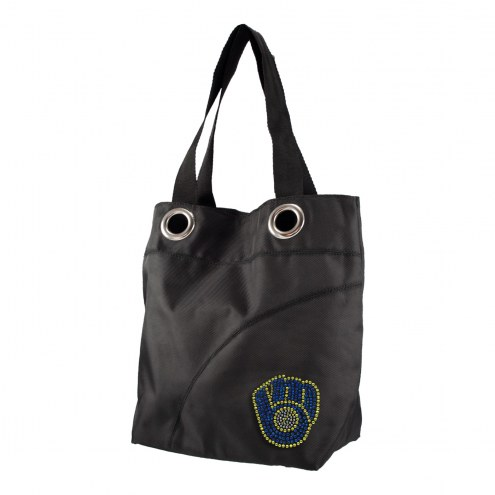 Milwaukee Brewers Sport Noir Sheen Tote