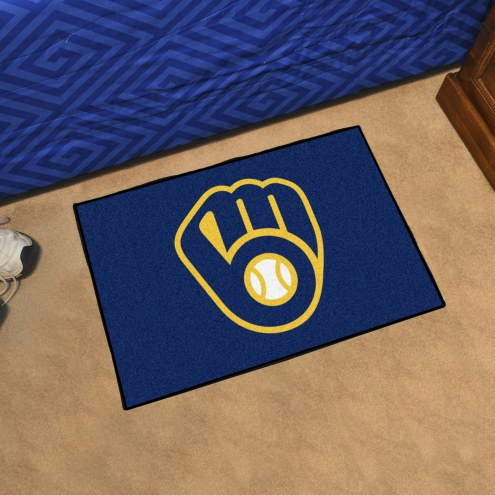 Milwaukee Brewers Starter Rug