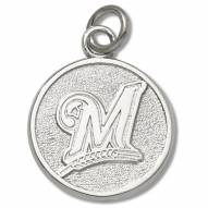 Milwaukee Brewers Sterling Silver Charm