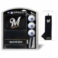 Milwaukee Brewers Golf Gift Set