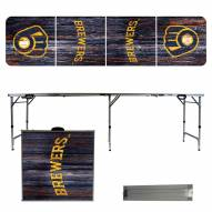 Milwaukee Brewers Victory Folding Tailgate Table