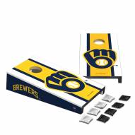 Milwaukee Brewers Mini Cornhole Set