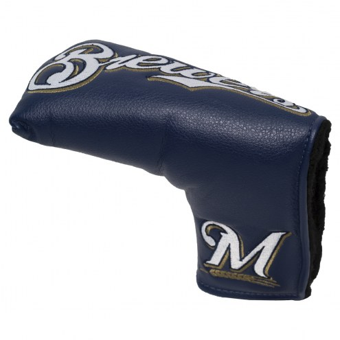 Milwaukee Brewers Vintage Golf Blade Putter Cover