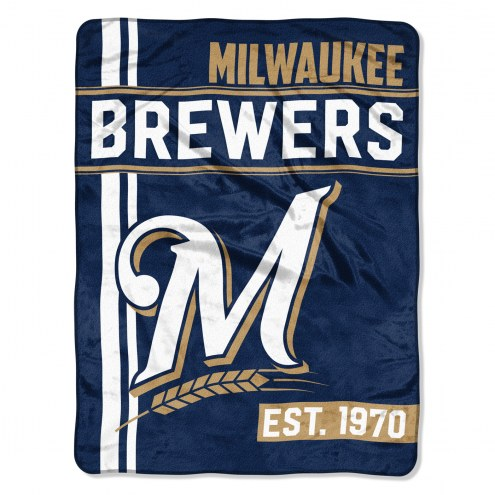 Milwaukee Brewers Walk Off Throw Blanket