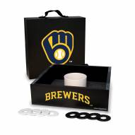 Milwaukee Brewers Washer Toss Game Set