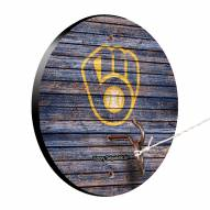 Milwaukee Brewers Weathered Design Hook & Ring Game