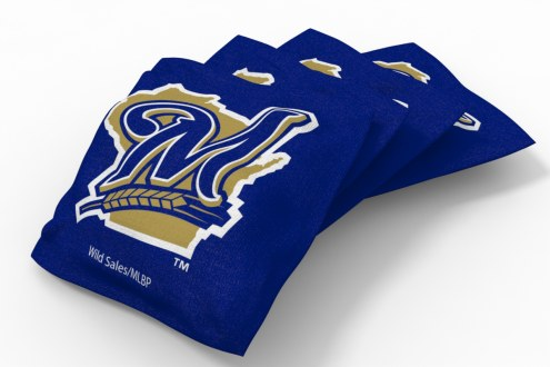 Milwaukee Brewers Cornhole Bags - Set of 4
