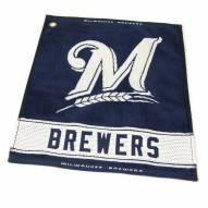 Milwaukee Brewers Woven Golf Towel