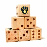 Milwaukee Brewers Yard Dice