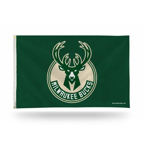 Milwaukee Bucks 3' x 5' Banner Flag