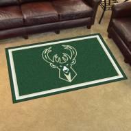 Milwaukee Bucks 4' x 6' Area Rug