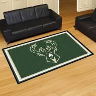 Milwaukee Bucks 5' x 8' Area Rug