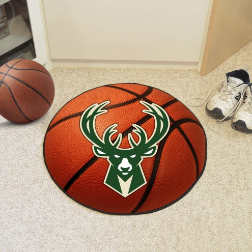 Milwaukee Bucks Basketball Mat