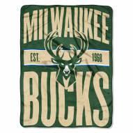 Milwaukee Bucks Clear Out Throw Blanket