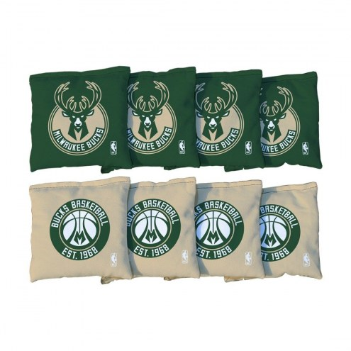 Milwaukee Bucks Cornhole Bag Set