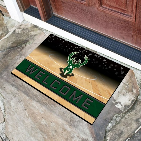 Milwaukee Bucks Crumb Rubber Door Mat