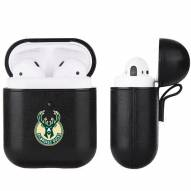 Milwaukee Bucks Fan Brander Apple Air Pods Leather Case