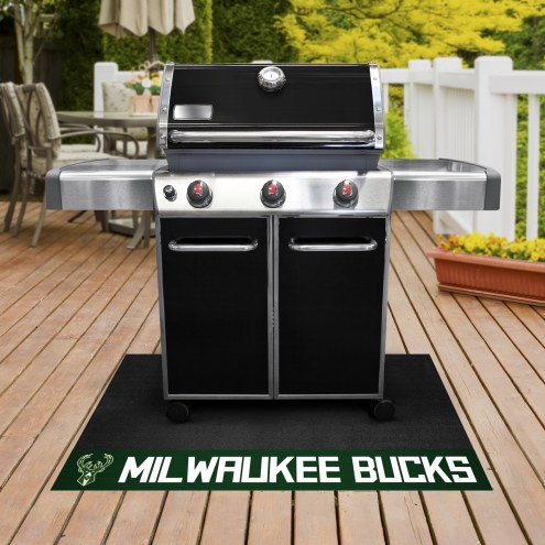 Milwaukee Bucks Grill Mat