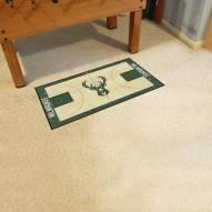 Milwaukee Bucks NBA Court Runner Rug
