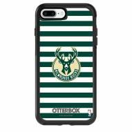 Milwaukee Bucks OtterBox iPhone 8 Plus/7 Plus Symmetry Stripes Case