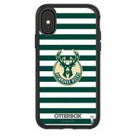 Milwaukee Bucks OtterBox iPhone X/Xs Symmetry Stripes Case