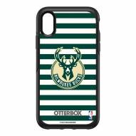 Milwaukee Bucks OtterBox iPhone XR Symmetry Stripes Case