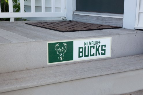 Milwaukee Bucks Outdoor Step Graphic