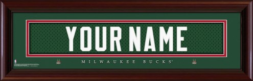 Milwaukee Bucks Personalized Stitched Jersey Print