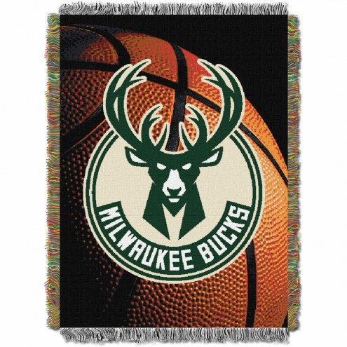 Milwaukee Bucks Photo Real Throw Blanket