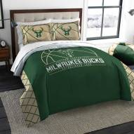 Milwaukee Bucks Reverse Slam Full/Queen Comforter Set