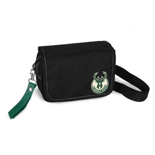 Milwaukee Bucks Ribbon Waist Pack Purse