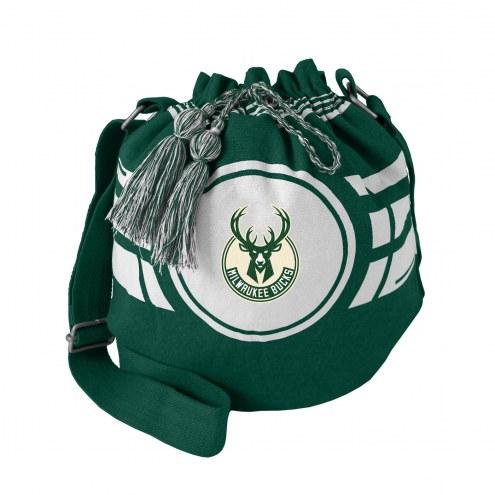Milwaukee Bucks Ripple Drawstring Bucket Bag