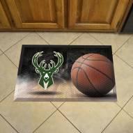 Milwaukee Bucks Scraper Door Mat