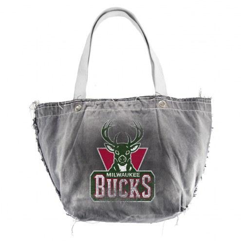 Milwaukee Bucks Vintage Tote Bag