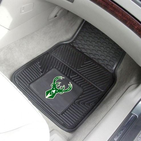 Milwaukee Bucks Vinyl 2-Piece Car Floor Mats