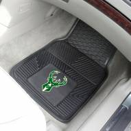 Milwaukee Bucks Vinyl 2-Piece Car Floor Mats