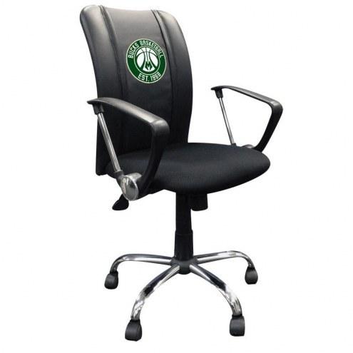 Milwaukee Bucks XZipit Curve Desk Chair with Secondary Logo