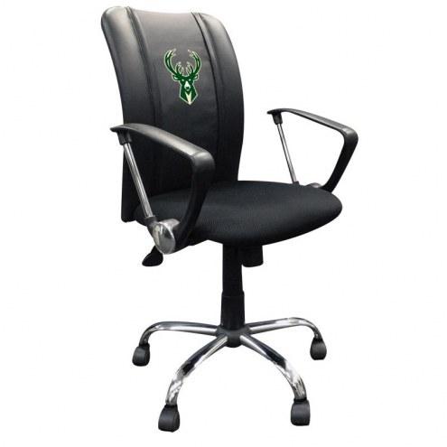 Milwaukee Bucks XZipit Curve Desk Chair