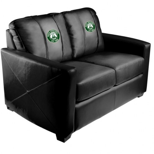 Milwaukee Bucks XZipit Silver Loveseat with Secondary Logo
