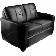 Milwaukee Bucks XZipit Silver Loveseat