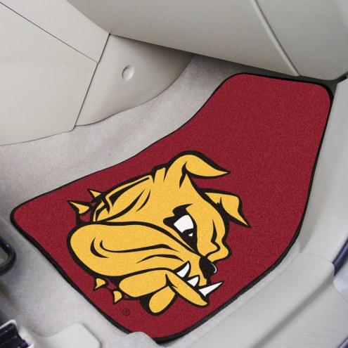 Minnesota Duluth Bulldogs 2-Piece Carpet Car Mats