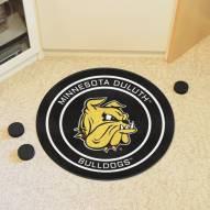 Minnesota Duluth Bulldogs Hockey Puck Mat