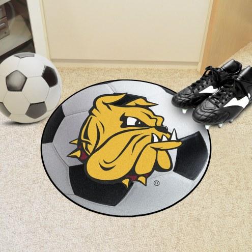 Minnesota Duluth Bulldogs Soccer Ball Mat