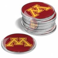 Minnesota Golden Gophers 12-Pack Golf Ball Markers