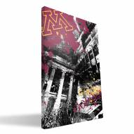 "Minnesota Golden Gophers 16"" x 24"" Spirit Canvas Print"