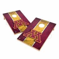 Minnesota Golden Gophers 2' x 3' Vintage Wood Cornhole Game