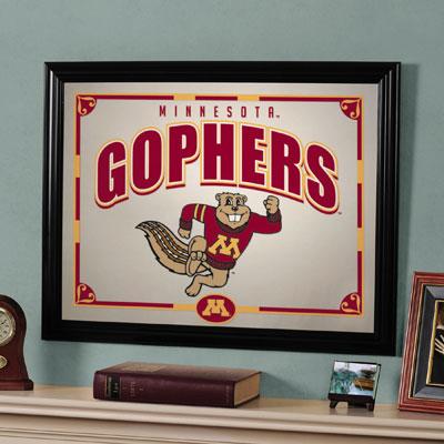 "Minnesota Golden Gophers 23"" x 18"" Mirror"